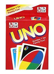 Mattel 108-Pieces Set Get Wild 4 Uno Card Game