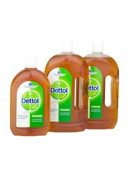 Dettol Antiseptic Disinfectant Liquid, 2 Liters + 500ml