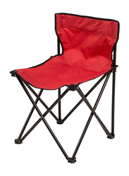Conjoined Folding Camping Chair, Red/Black