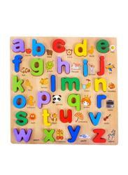 FunBlast Wooden Alphabet Puzzles Toys, 26 Pieces, Ages 3+