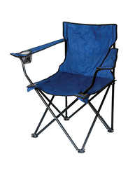 Oriental Foldable Camp Chair, Blue