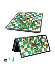 Popsugar Magnetic Travel Snake and Ladder Board Game Set, THR9405