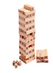Numerical Building Block Set, 54 Pieces, Ages 3+