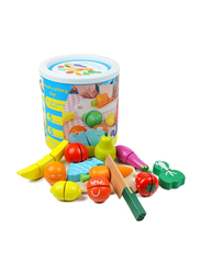 Beauenty Wooden Kitchen Cutting Fruits Vegetables Puzzle Toys