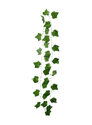 Yatai Artificial Hanging Ivy Leaves Set, 230cm, 12 Pieces, Green