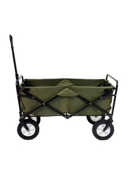 Collapsible Folding Outdoor Utility Wagon, Green, Ages 3+