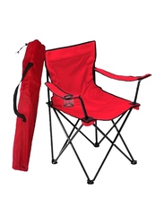 Folding Camping Chair, Red