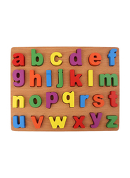 27-Piece Wooden Small Alphabet Letters Puzzle Toy