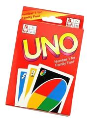 Uno Family Fun Card Game, 8.7 x 5.7cm