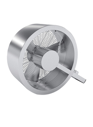 Stadler Form Q Stainless Steel Fan, Silver