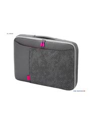 Dicota Bounce SlimCase 11.6-inch Sleeve Laptop Bag, Grey/Pink