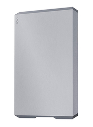 LaCie 4TB HDD Mobile Drive External Portable Hard Drive, USB-C/USB-A to USB-C Cables, STHG4000402, Space Grey