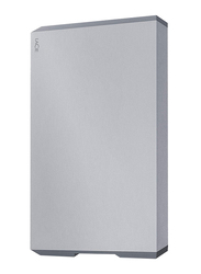 LaCie 5TB HDD Mobile Drive External Portable Hard Drive, USB-C/USB-A to USB-C Cables, STHG5000402, Space Grey