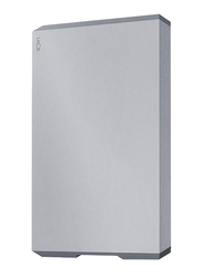 LaCie 2TB HDD Mobile Drive External Portable Hard Drive, USB-C/USB-A to USB-C Cables, STHG2000402, Space Grey