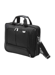 Dicota Top Traveller Compact 14-inch Messenger Laptop Bag, Black