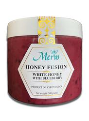 Merw Honey Fusion White Honey with Blueberry, 500g