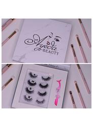 Ayeda Beauty Lashes Set, 4 Lashes