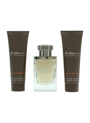 Baldessarini 3-Piece Ultimate Gift Set for Men, 50ml EDT, 2 x 50ml Shower Gel
