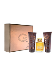 Maxx Laurent 3-Piece G Men Gift Set for Men, 100ml EDT, 200ml After Shave Balm, 200ml Shower Gel