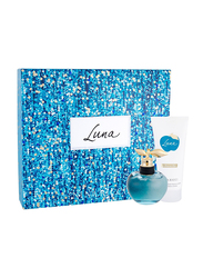Nina Ricci 2-Piece Luna Gift Set for Women, 80ml EDT, 100ml Body Lotion