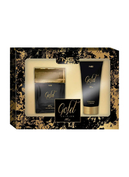 Next Generation Perfumes 2-Piece Gold Edition Gift Set for Men, 100ml EDT, 200ml Shower Gel