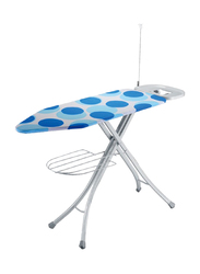 RoyalFord Mesh Ironing Board with Socket, RF1965IB, Blue/White