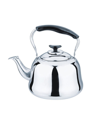 RoyalFord 1.5 Ltr Gas Stainless Steel Whistling Kettle, RF9563, Silver