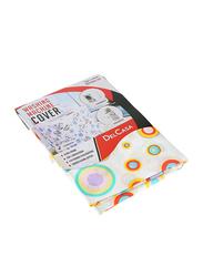 Delcasa Washing Machine Cover, 55 x 58 x 87cm, Multicolour
