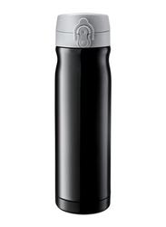 RoyalFord 500ml Double Wall Stainless Steel Vacuum Bottle, RFU9094, Black