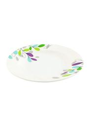 Royalford 10-inch Melamine Ware Deep Pasta Plate, RF7262, White