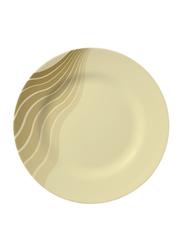 Royalford 8-inch Radiant Thai Melamine Dinner Plate, RF8190, Beige