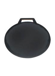 RoyalFord 40cm Non-Stick Flat Tawa, RF7372, Black