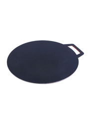 RoyalFord 45cm Non-Stick Flat Tawa, RF7373, Black