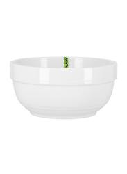 Royalford 5-inch Magnesia Porcelain Serving Bowl, RF8014, White