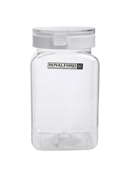 RoyalFord Pet Plastic Canister, 600ml, Clear