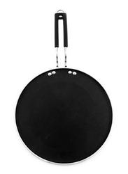 RoyalFord 27cm Aluminium Smart Tawa, RF7460, Black
