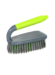 Delcasa Cleaning Brush, Grey/Green