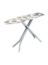 RoyalFord Mesh Ironing Board with Safety Lock System, RF367IBS, Pink/White