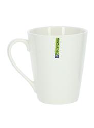 Royalford 230ml Magnesia Porcelain Coffee Mug, RF8017, White