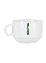 Royalford 150ml Ceramic Thick Wall Coffee Cup, RF8769, White