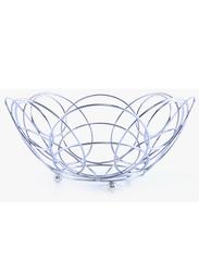 Royalford Decorative Fruit Bowl, RF6792, Silver