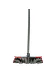 Delcasa Broom with Handle, DC1613, Grey/Red