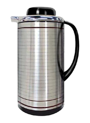 RoyalFord 1.9 Ltr Glass Vacuum Flask, RF5755, Silver