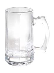 Delcasa 400ml 2-Piece Glass Cup, DC1287, Clear