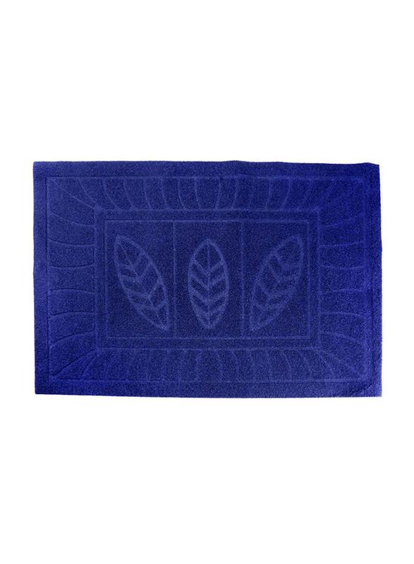 Delcasa Door Mat, 47x77 cm, Blue