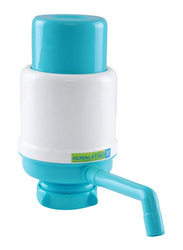 Royalford Dolphin Manual Water Bottle Pump, RF7785, Blue