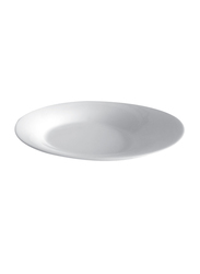 Royalford 9.5-inch Porcelain Serving Plate, RF8435, White