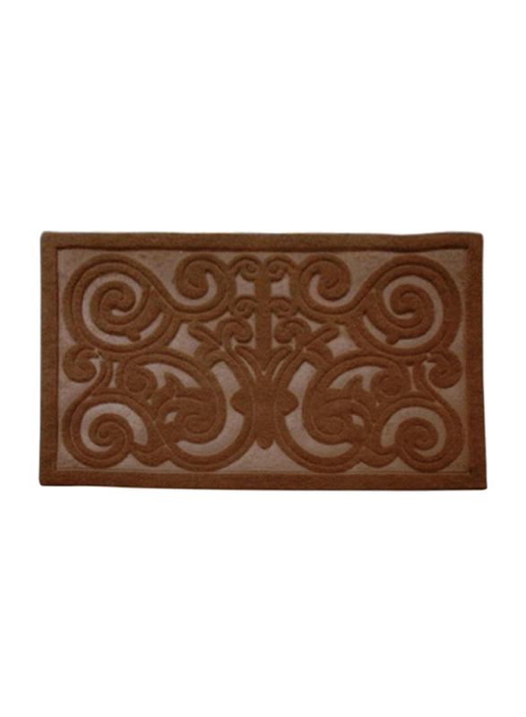RoyalFord Rubber Mat, Brown