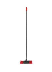 Delcasa Broom with Handle, Grey/Red