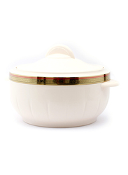 Royalford 3500ml Plastic Classic Casserole with Lid, RF1641, White